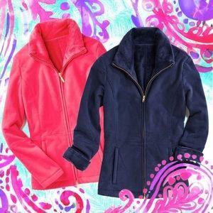 Lilly Pulitzer Pomegranate Pink Grace Jacket